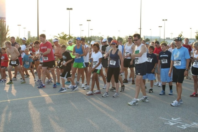 At the start...I'm the beast in the red shirt